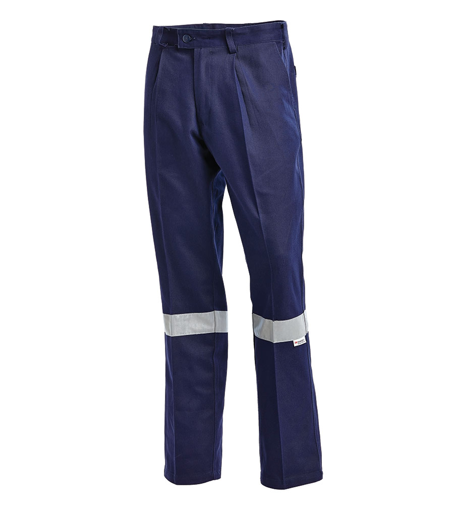 PANT DRILL NAVY 3M TAPE 102R - JSW LOGO TO BACK