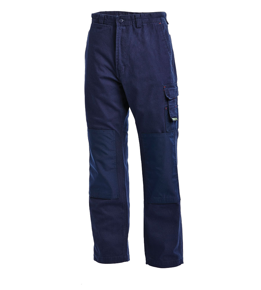 PANT UTILITY COT/ CANVAS NAVY 102R COTTON / CANVAS 340G