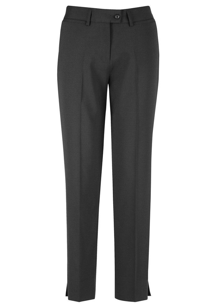 PANT LADIES SLIM LEG CHARCOAL S10 -