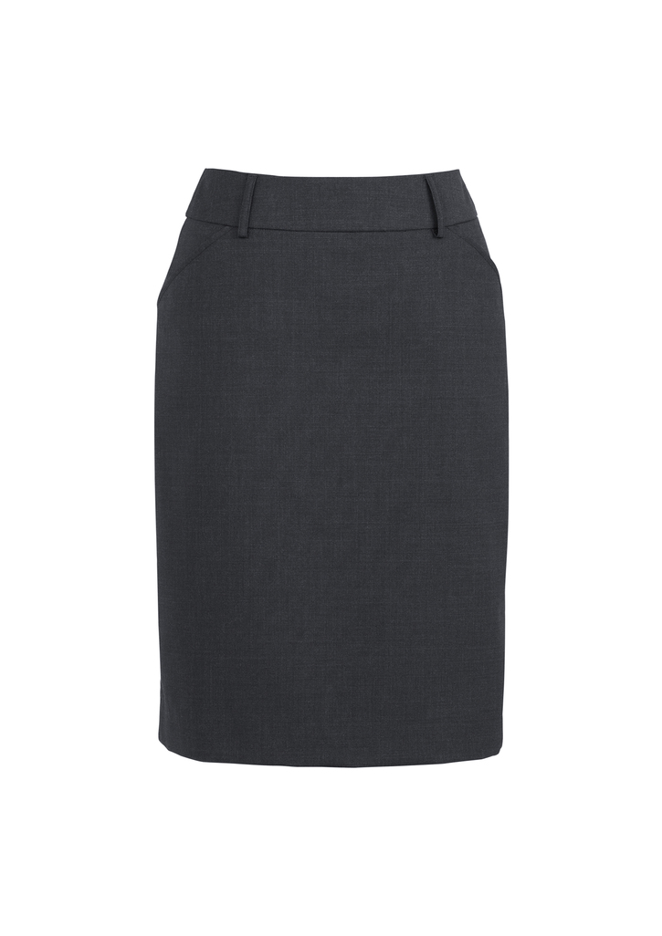SKIRT LADIES PLEAT CHARCOAL SIZE 10 -