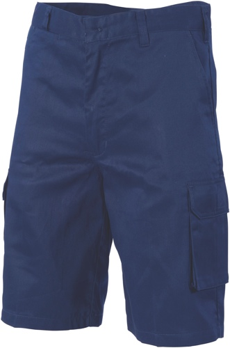 SHORT CARGO M/WEIGHT NAVY 102R