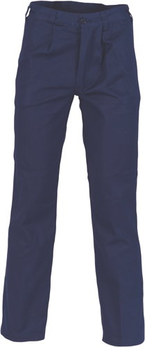PANT C/DRILL NAVY SIZE 102R