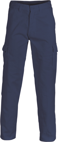 COTTON DRILL CARGO PANTS 142S