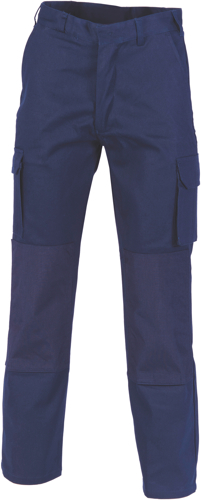 TROUSER C/D NAVY KNEE PAD SIZE 102R