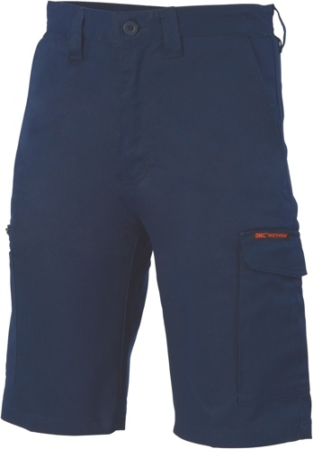 CARGO SHORT DIGGA COTTON NAVY 102R COOLE BREEZE 265gsm