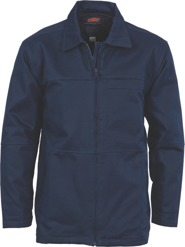 JACKET COTTON NAVY SIZE 2XL