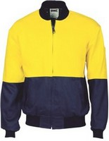 JACKET COTTON BOMBER YN 2XL 190GSM COTTON DRILL