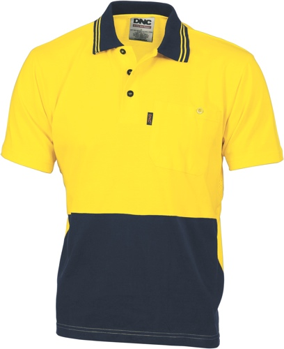 POLO COTTON JERSEY Y/N S/S 2XL