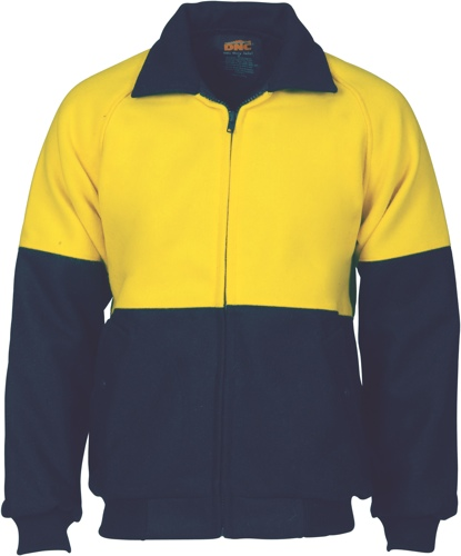 JACKET BLUEY YELLOW/NAVY SIZE 2XL