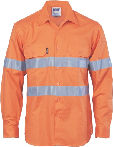SHIRT COOLBREEZE T1 ORANGE 2XL VERTICAL VENT TAPED