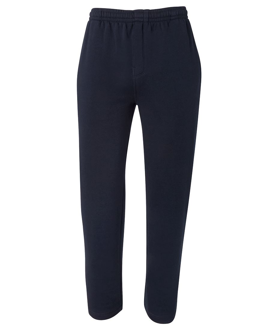 FLEECY TRACK PANT NAVY 2XL - COTTON POLY