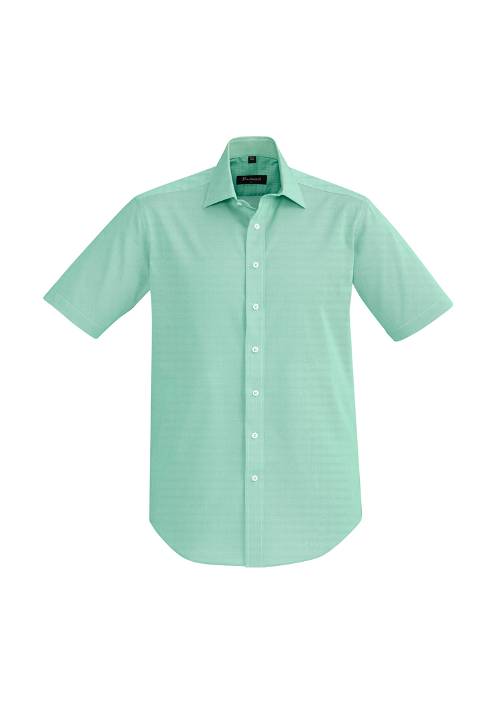 SHIRT MENS HUDSON S/S GREEN 2XL -