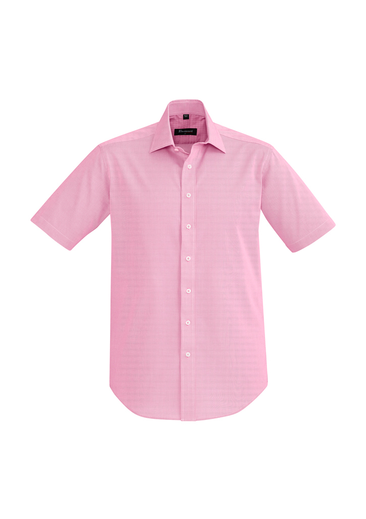 SHIRT MENS HUDSON S/S MELON 2XL -