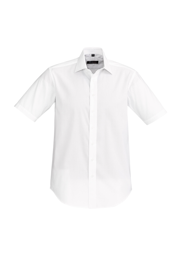 SHIRT MENS HUDSON S/S WHITE 2XL -