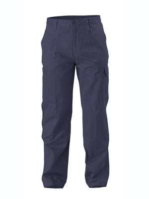 TROUSER COOL WEIGHT C/DRILL NAVY 102