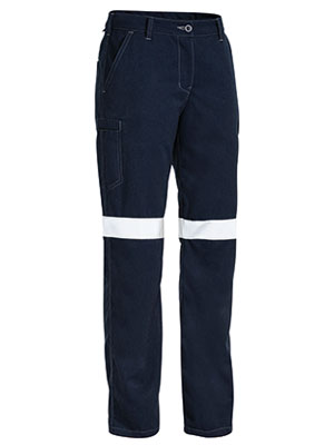 TROUSER LADIES TECASAFE NAVY 12 HRC-2 ATPV 8-9