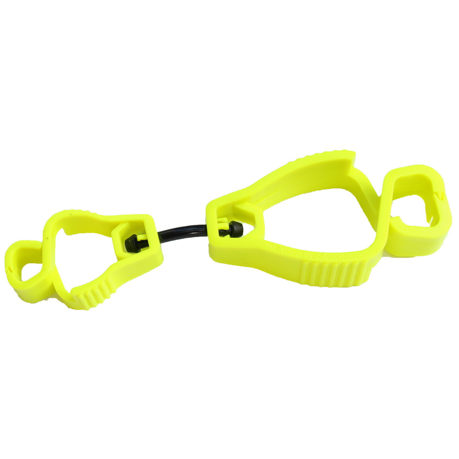 GLOVE GUARD CLIP YELLOW PLASTIC