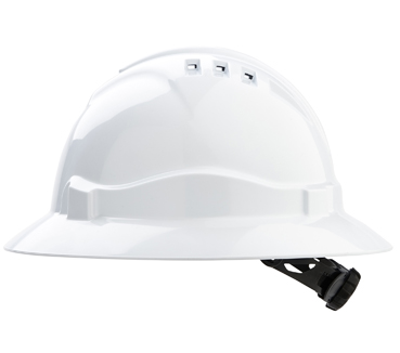 HARD HAT VENTED V6 FULL BRIM  AUSDRILL LOGO 3 COLOUR