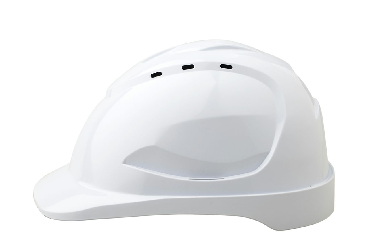HARD HAT VENTED V9 WHITE - DRILL RIGS AUST 3 COLOUR