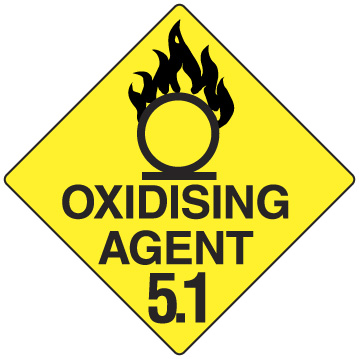 OXIDISING AGENT 5.1 270 X 270mm POLY