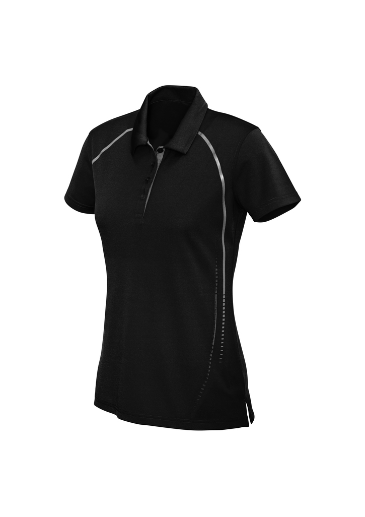 POLO LADIES CYBER BLACK /SILV 10 WELL CONTROL & INTEGRATED LOGO