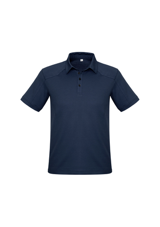 POLO MENS PROFILE NAVY 2XL - 165GSM BIZCOOL FABRIC