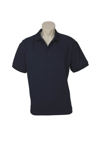 POLO MENS OCEANA NAVY 2XL COTTON RICH STRETCH