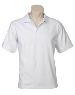 POLO MENS OCEANA WHITE 2XL COTTON RICH STRETCH
