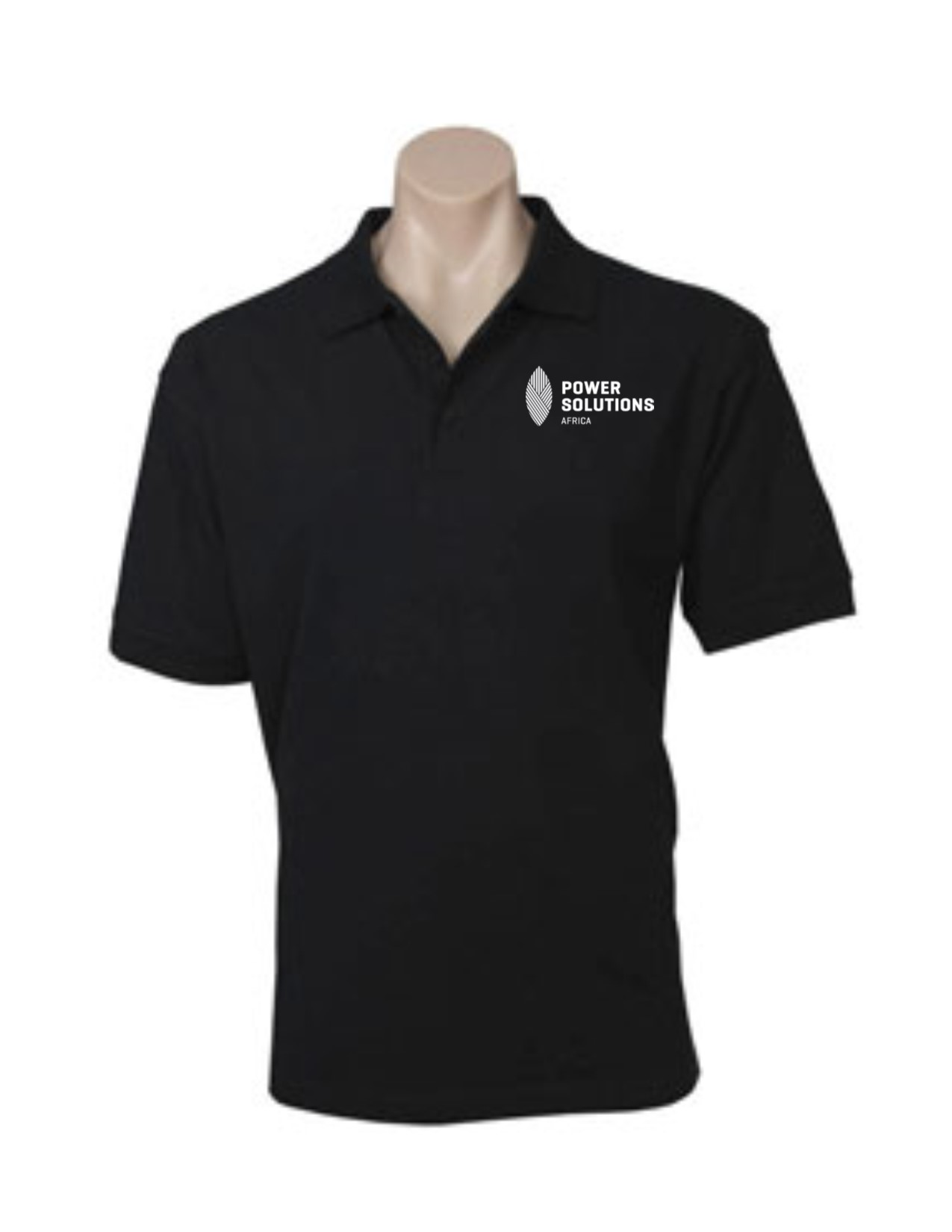 POLO MENS OCEANA NAVY 2XL - POWER SOLUTIONS LOGO