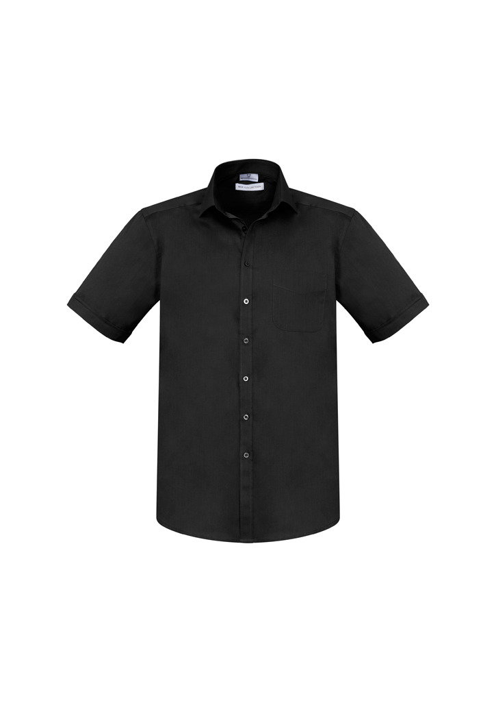 SHIRT MENS MONACO S/S BLACK S2XL -