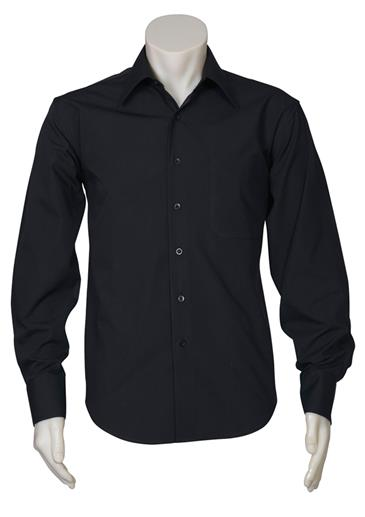 SHIRT METRO MENS BLACK XL WELL CONTROL & INTEGRATED LOGO