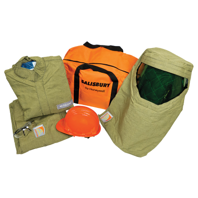 ARC FLASH KIT LIGHTWEIGHT 40cal/cm2 KHAKI SIZE XL