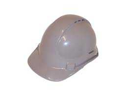 HARD HAT VENTED GREY