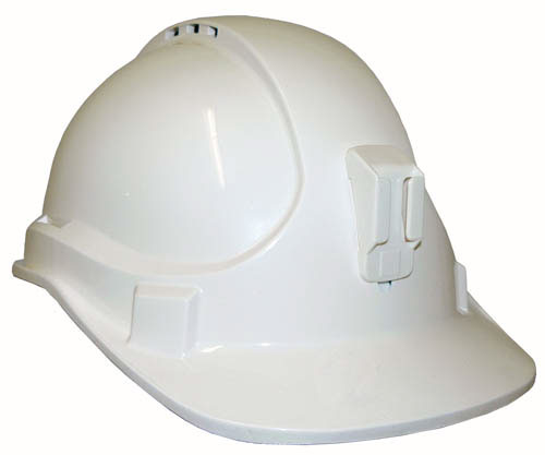 HARD HAT VENTED PLASTIC LAMP BRACKET