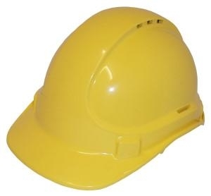 HARD HAT VENTED YELLOW