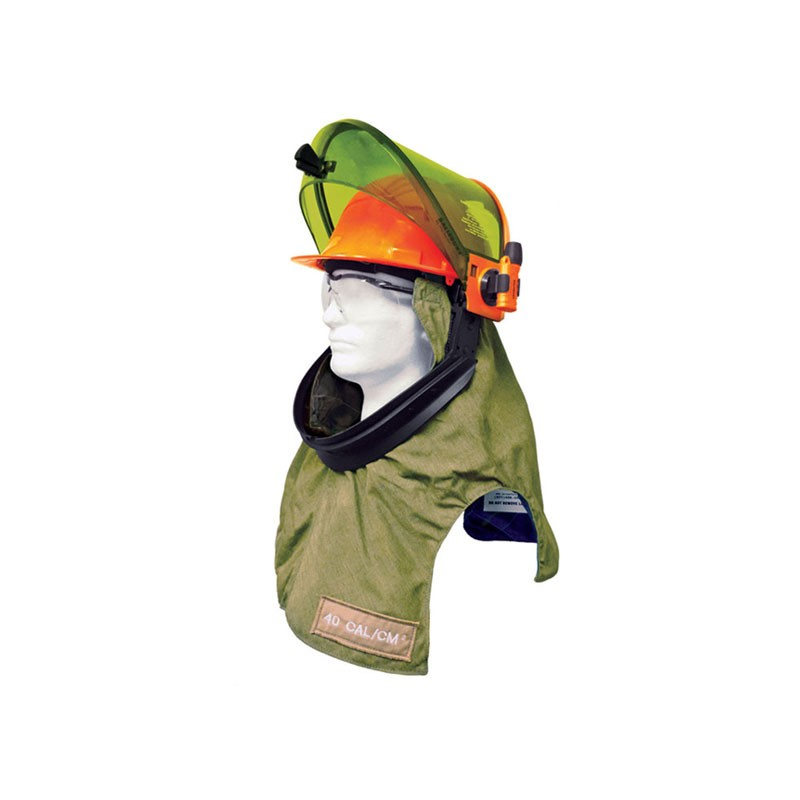 ARC FLASH HOOD LIGHTWEIGHT 40CAL - 255gsm (7oz) fabric